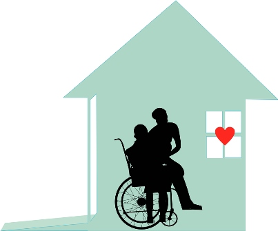 Home Care Living With Dignity Illustration