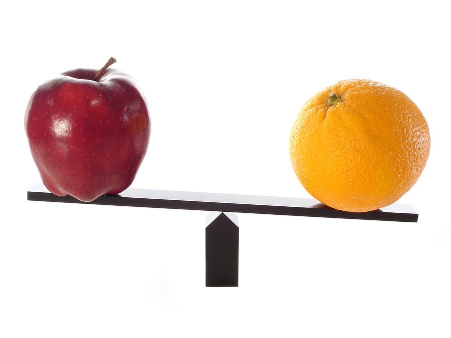 CCRC vs independent living community apple and orange on a scale