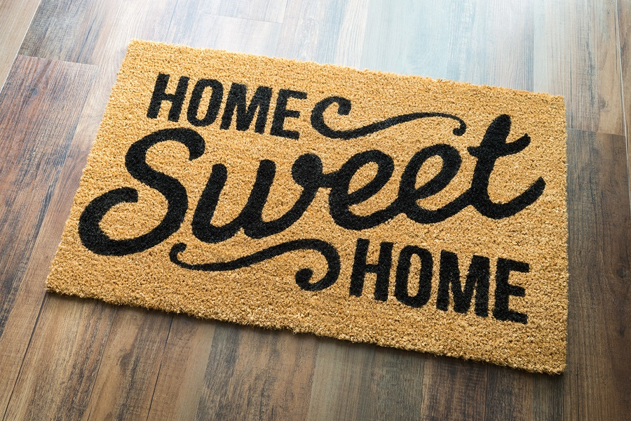 continuing care at home welcome mat
