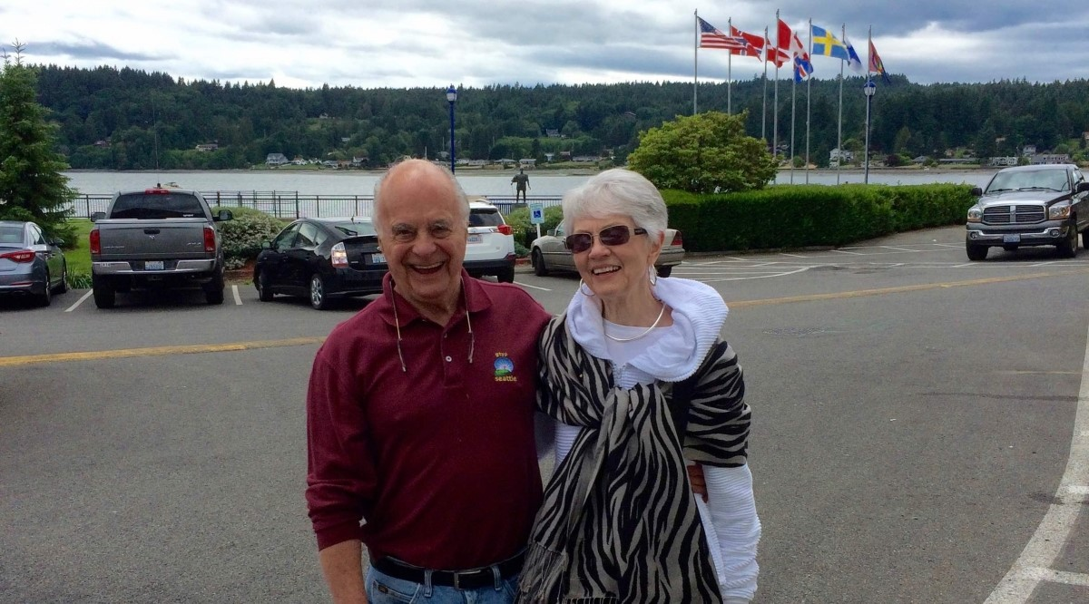Jim Patrick and his spouse
