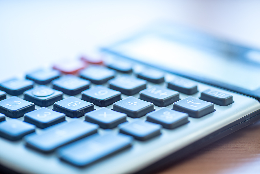 CCRC pricing image of a calculator