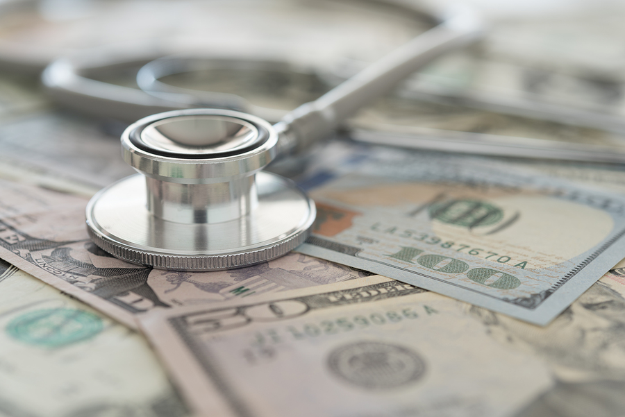 stethoscope on cash ways to pay for long-term care
