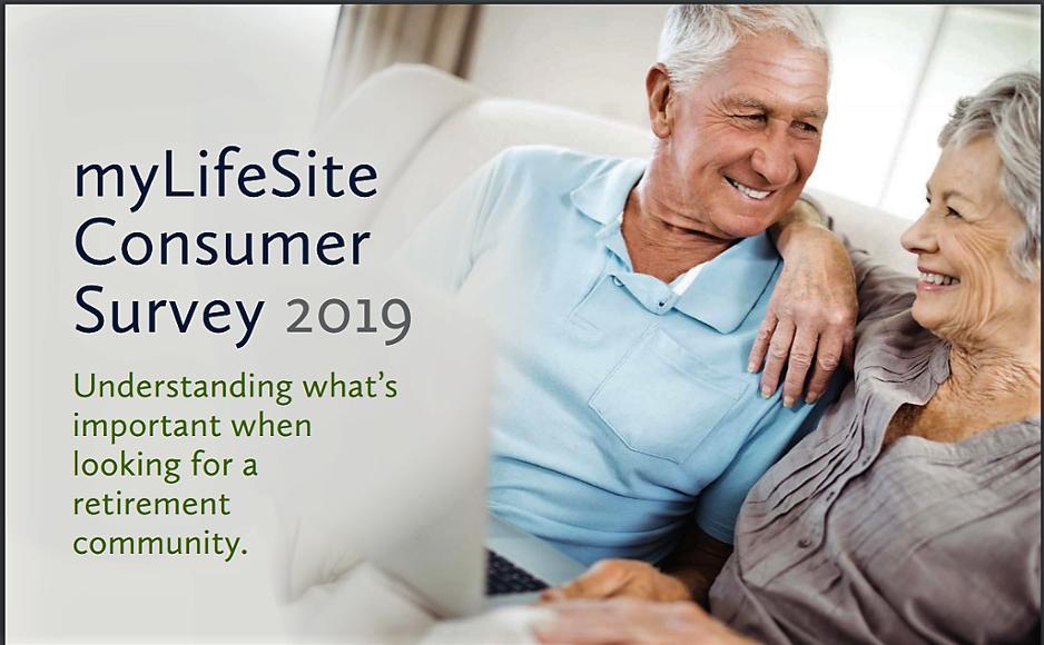 2019 myLifeSite Consumer Survey cover