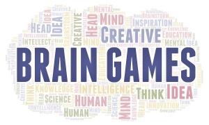 Brain Games Word Cloud