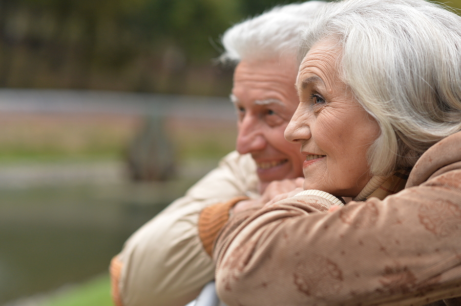 rental or entry fee; Close Up Portrait Of Senior Couple