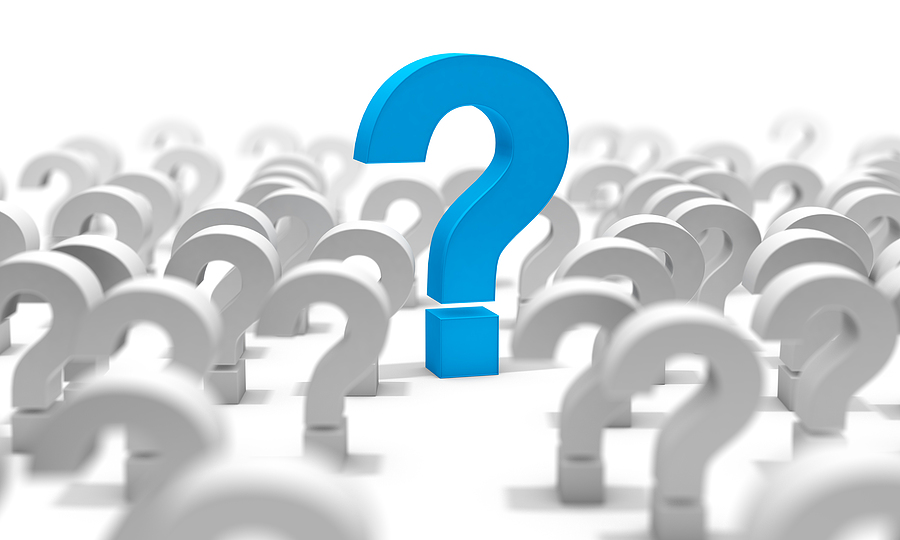 CCRC questions Question Mark Isolated Over White Background