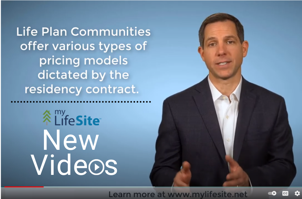 new senior living educational videos screenshot