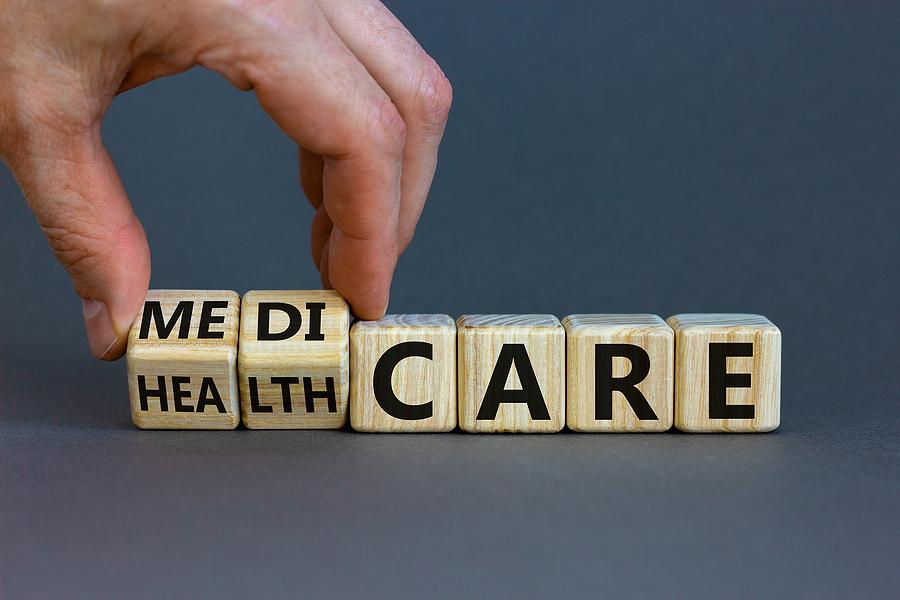Medicare senior Healthcare Symbol