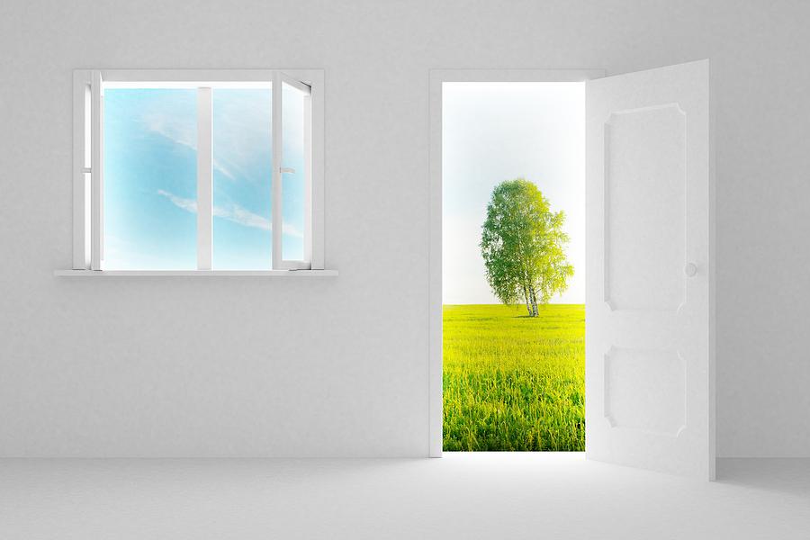 CCRC opening doors concept